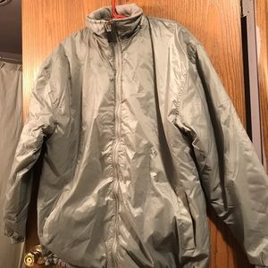 Reversible Grey Coat